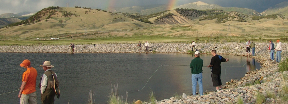 Veterans find therapy in fly fishing
